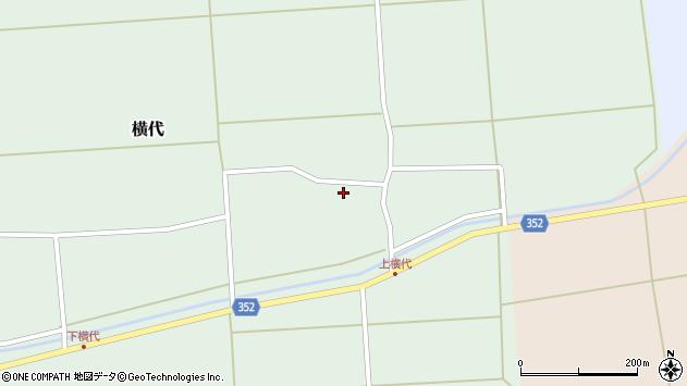 山形県酒田市横代千代桜49周辺の地図