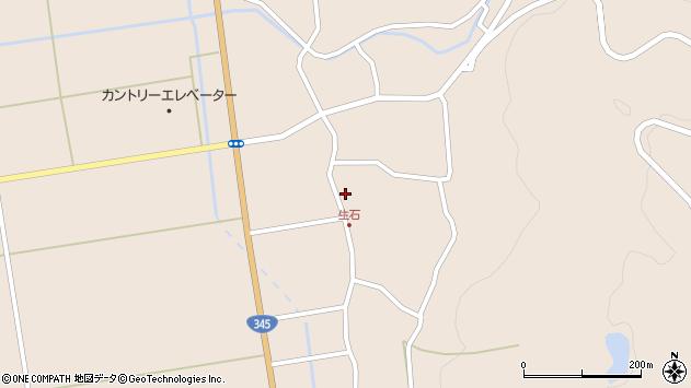 山形県酒田市生石奥山167周辺の地図