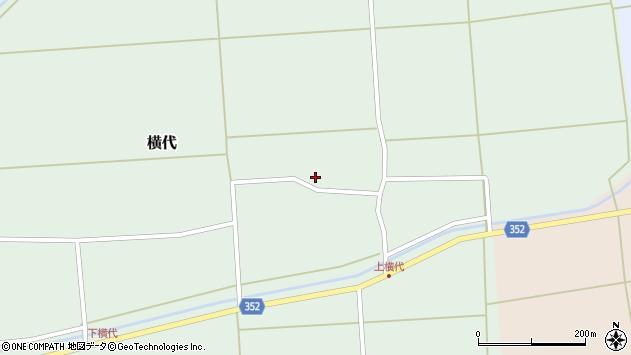 山形県酒田市横代千代桜72周辺の地図