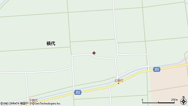 山形県酒田市横代千代桜75周辺の地図