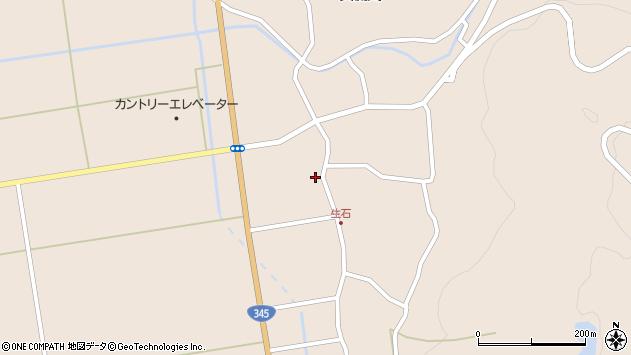 山形県酒田市生石幸田29周辺の地図
