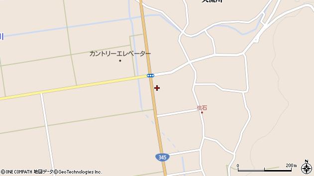 山形県酒田市生石登路田9周辺の地図