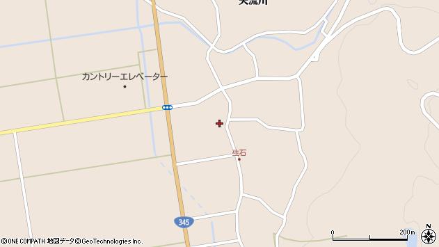 山形県酒田市生石登路田7周辺の地図