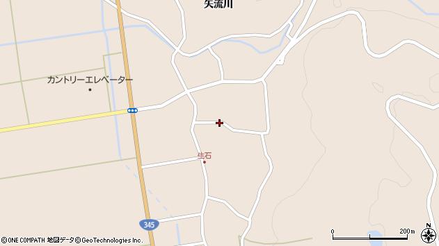 山形県酒田市生石奥山161周辺の地図