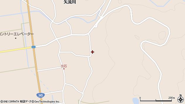 山形県酒田市生石矢流川19周辺の地図
