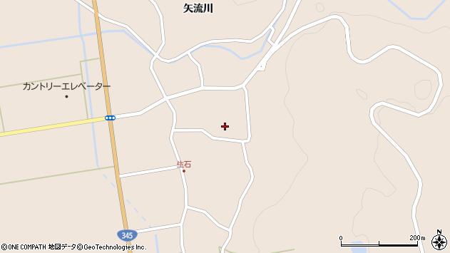 山形県酒田市生石矢流川33周辺の地図