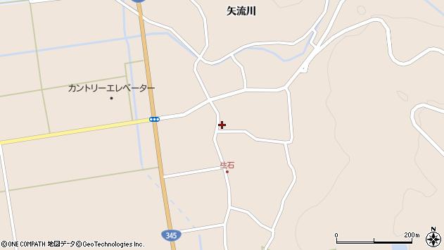 山形県酒田市生石矢流川24周辺の地図
