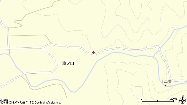 山形県酒田市北俣奥山55周辺の地図