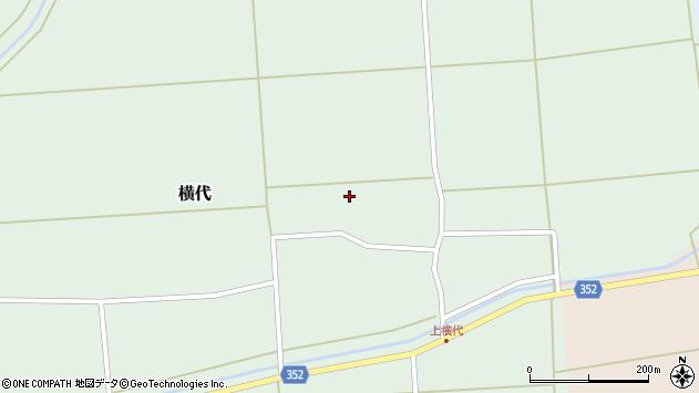 山形県酒田市横代千代桜80周辺の地図