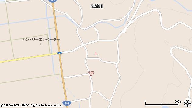 山形県酒田市生石矢流川40周辺の地図
