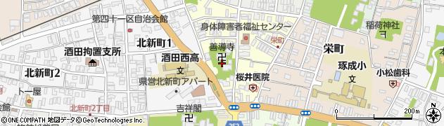 山形県酒田市北今町7周辺の地図