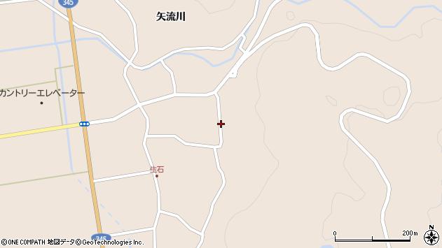 山形県酒田市生石矢流川125周辺の地図