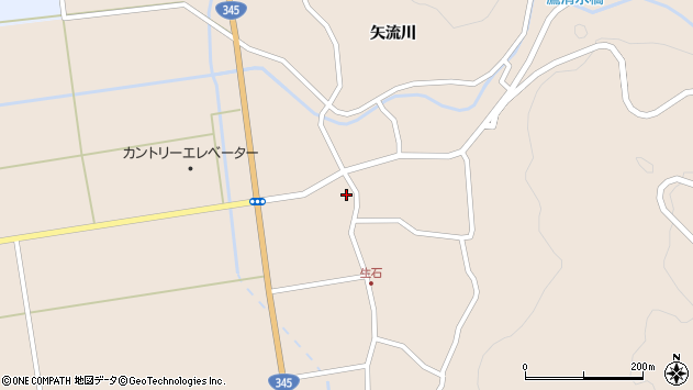 山形県酒田市生石幸田15周辺の地図