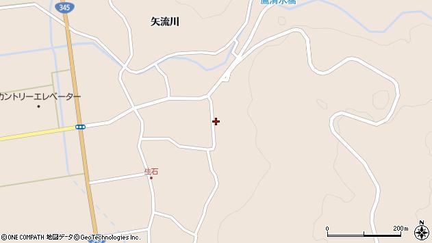 山形県酒田市生石矢流川22周辺の地図