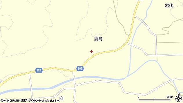 山形県酒田市北俣鹿島48周辺の地図