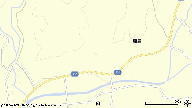 山形県酒田市北俣鹿島山24周辺の地図