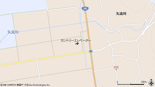 山形県酒田市生石矢口周辺の地図