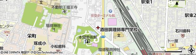 山形県酒田市御成町8周辺の地図