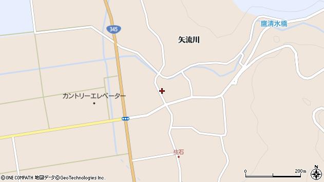 山形県酒田市生石矢流川91周辺の地図