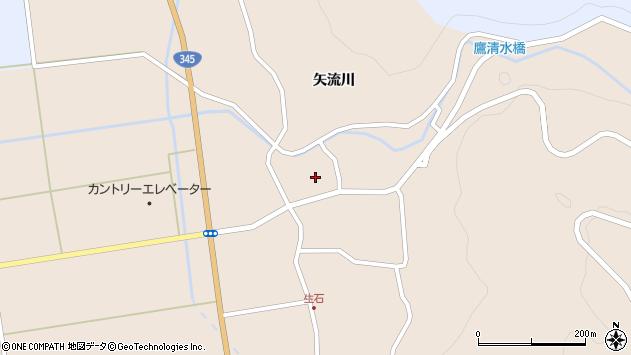 山形県酒田市生石矢流川81周辺の地図