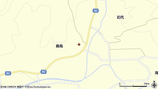 山形県酒田市北俣鹿島15周辺の地図