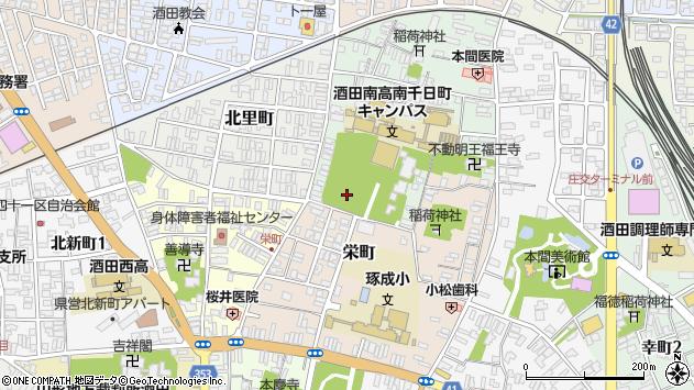 山形県酒田市南千日町6周辺の地図