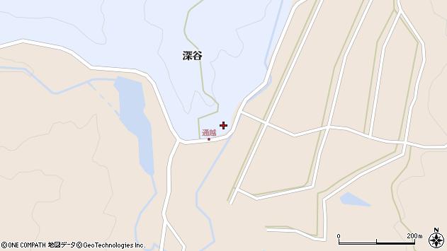 山形県酒田市北沢深谷146周辺の地図