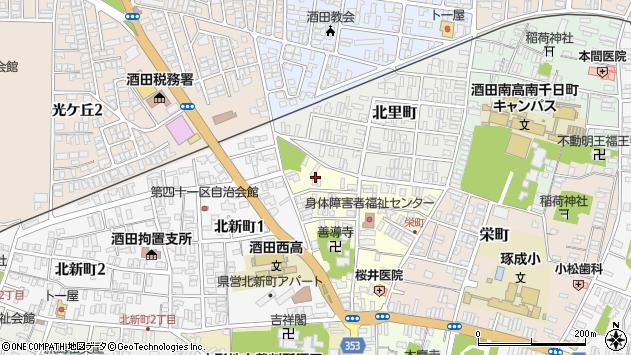 山形県酒田市北今町5周辺の地図