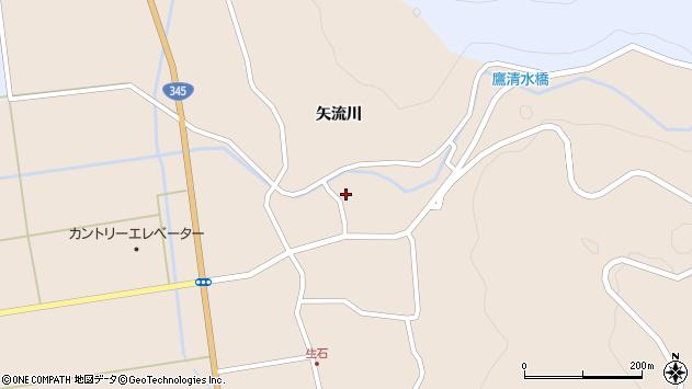 山形県酒田市生石矢流川109周辺の地図