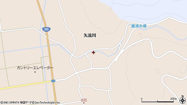 山形県酒田市生石矢流川108周辺の地図