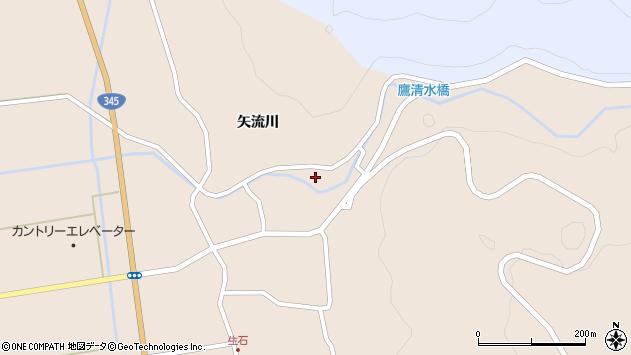 山形県酒田市生石矢流川229周辺の地図