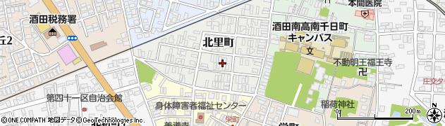 山形県酒田市北里町8周辺の地図
