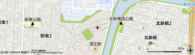 山形県酒田市旭新町21周辺の地図