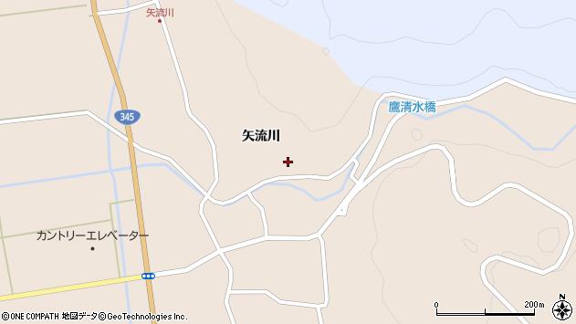 山形県酒田市生石矢流川236周辺の地図