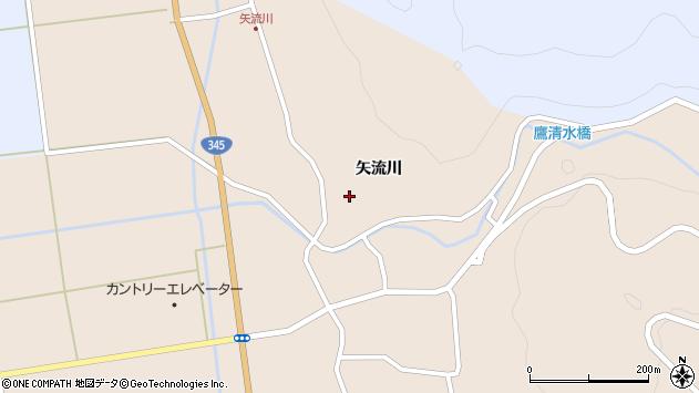 山形県酒田市生石矢流川270周辺の地図
