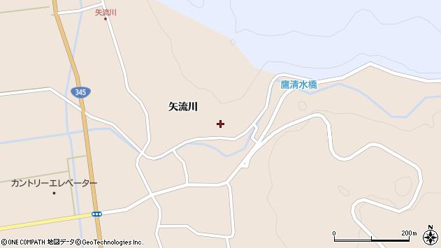 山形県酒田市生石矢流川239周辺の地図