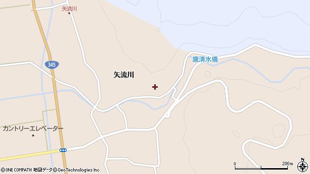 山形県酒田市生石矢流川226周辺の地図