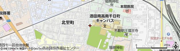 山形県酒田市南千日町7周辺の地図