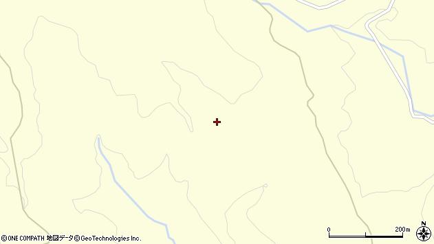 山形県酒田市北俣風野周辺の地図