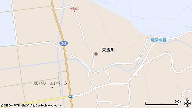 山形県酒田市生石矢流川272周辺の地図