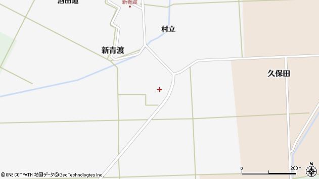 山形県酒田市新青渡村立91周辺の地図