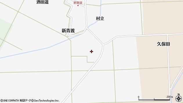 山形県酒田市新青渡村立60周辺の地図
