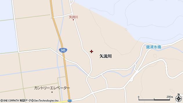 山形県酒田市生石矢流川273周辺の地図
