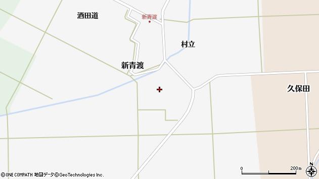 山形県酒田市新青渡村立79周辺の地図