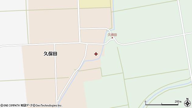 山形県酒田市久保田川東27周辺の地図