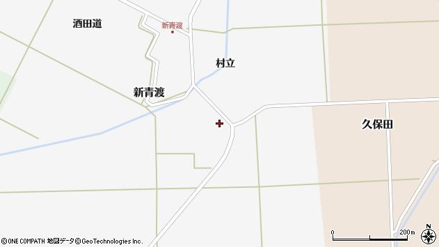 山形県酒田市新青渡村立87周辺の地図