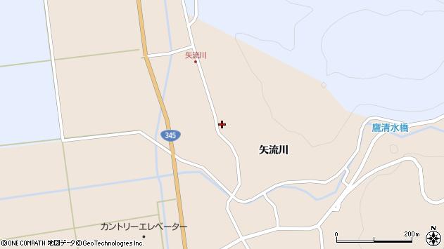 山形県酒田市生石矢流川276周辺の地図