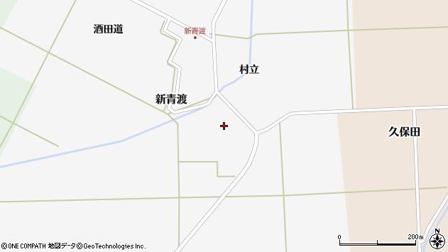 山形県酒田市新青渡村立81周辺の地図