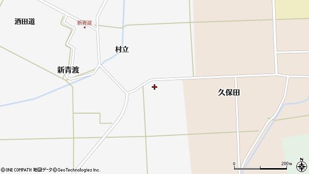 山形県酒田市新青渡東割29周辺の地図