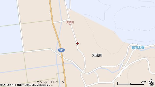 山形県酒田市生石矢流川278周辺の地図